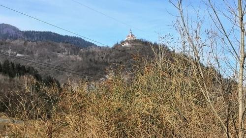 castello su collina